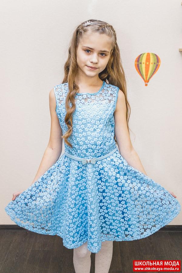 Платье для девочки 164